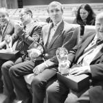 iš dešinės V.Čypas, A.Lekaveckas, A.Saulius, A.Saulius